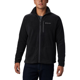 Columbia Fast Trek II Fleece Jack Doorlopende Rits Groot formaat Heren, black